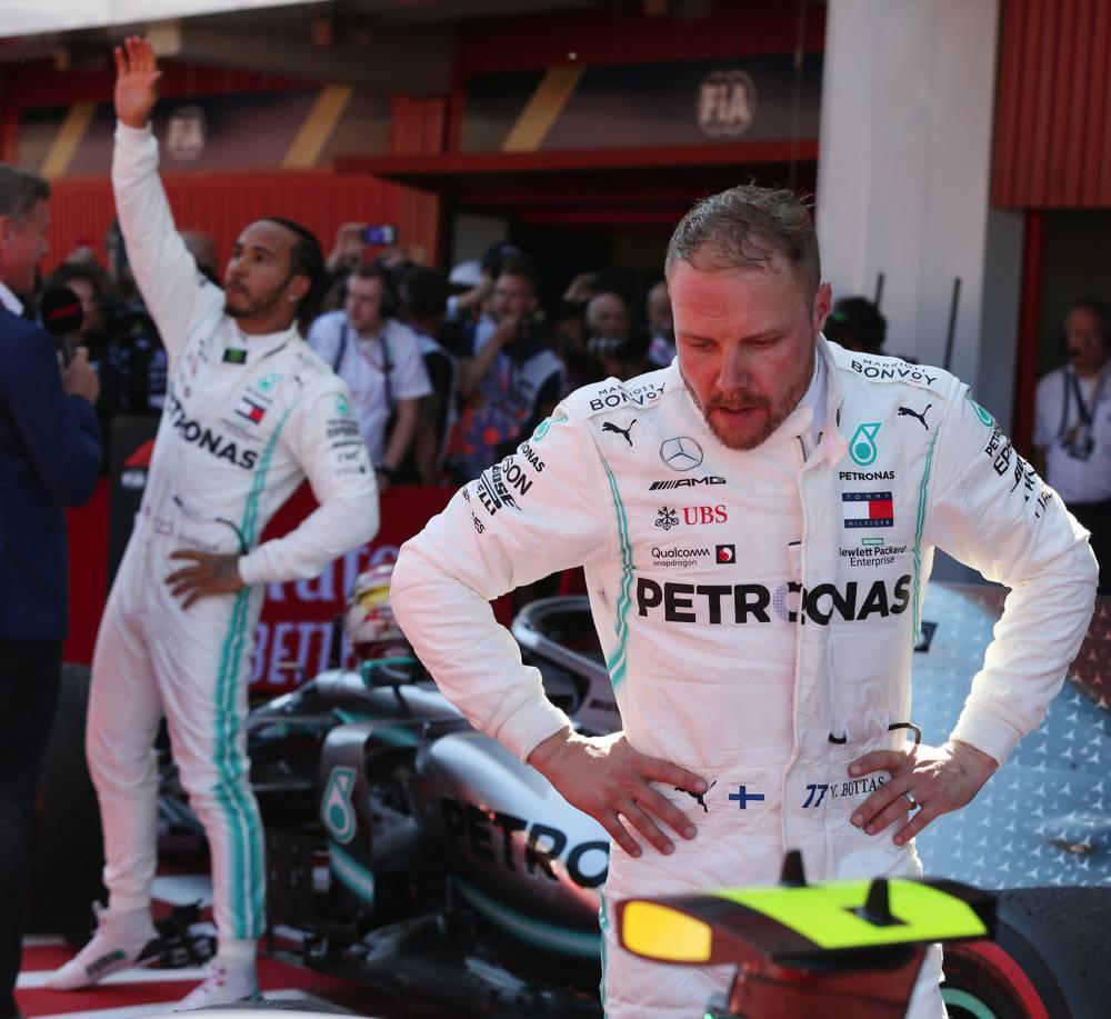 Mercedes feierte in Barcelona den 5. Doppelsieg im fünften Rennen der Saison