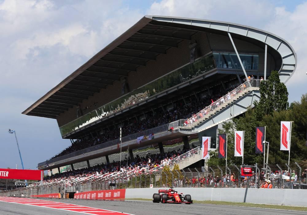 Vettel verpasst das Podium und beendet das Rennen auf P4
