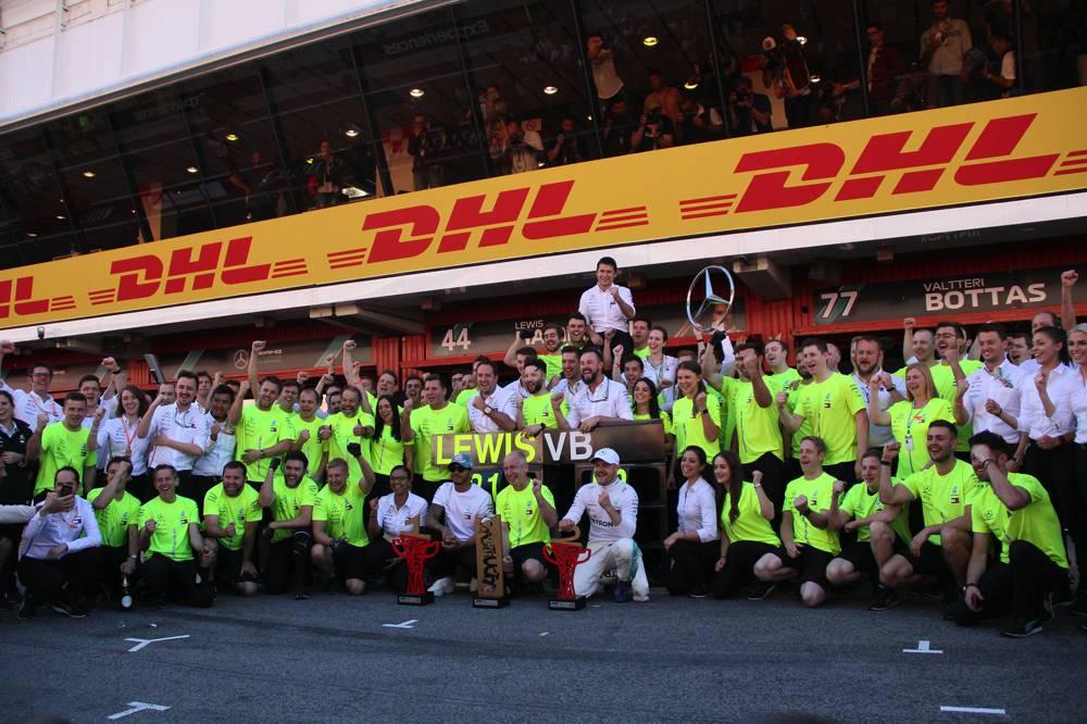 Mercedes führt die Teamwertung mit 217 Punkten an