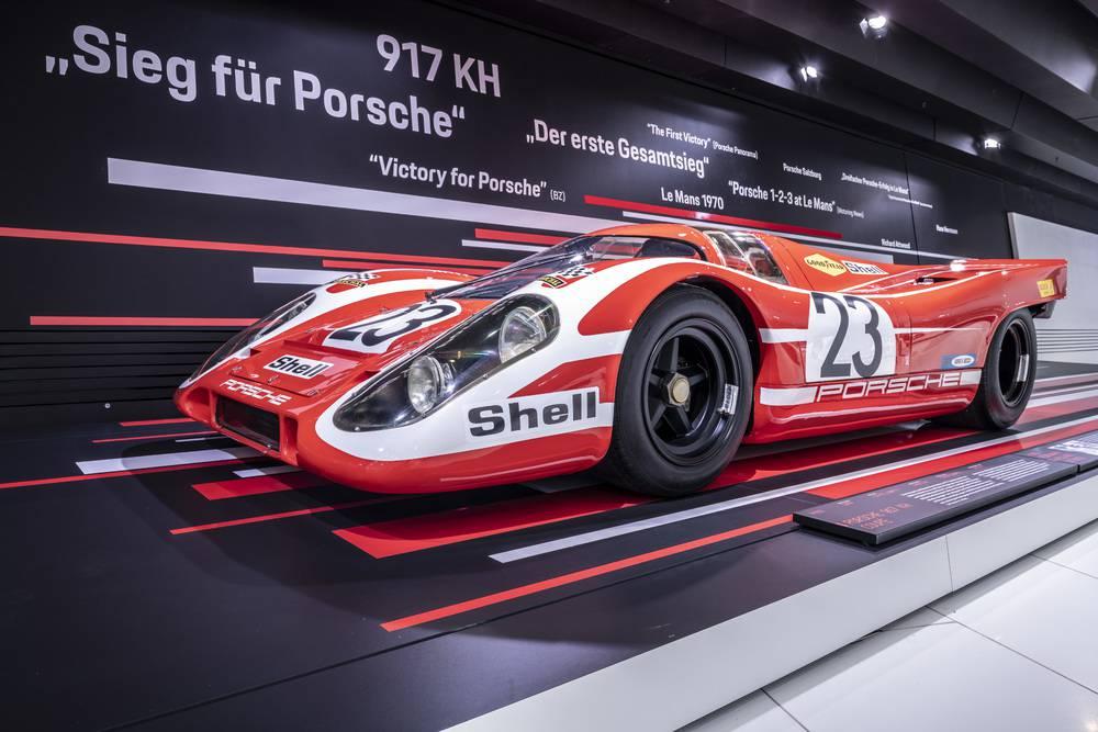 Der 917 Kurzheck mit der Nummer 23 sorgte für den ersten Gesamtsieg bei den 24 Stunden von Le Mans