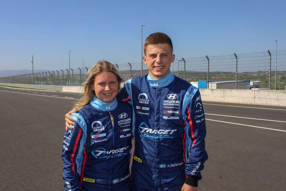 Jessica und Andreas Bäckman