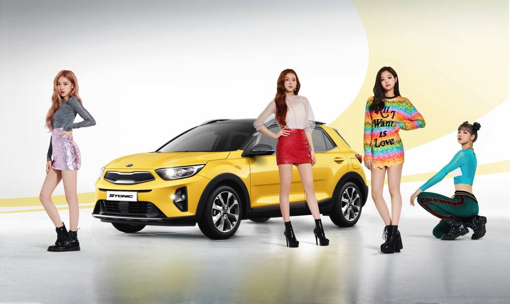 Kia sponsert K-Pop-Band Blackpink