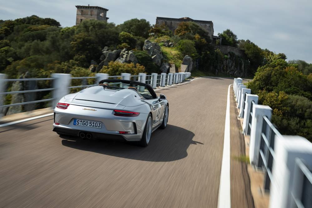 Porsche 911 Speedster mit Heritage-Design-Paket
