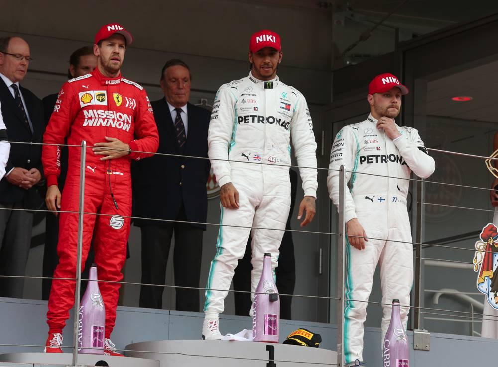 Hamilton gewinnt in Monaco vor Vettel und Bottas