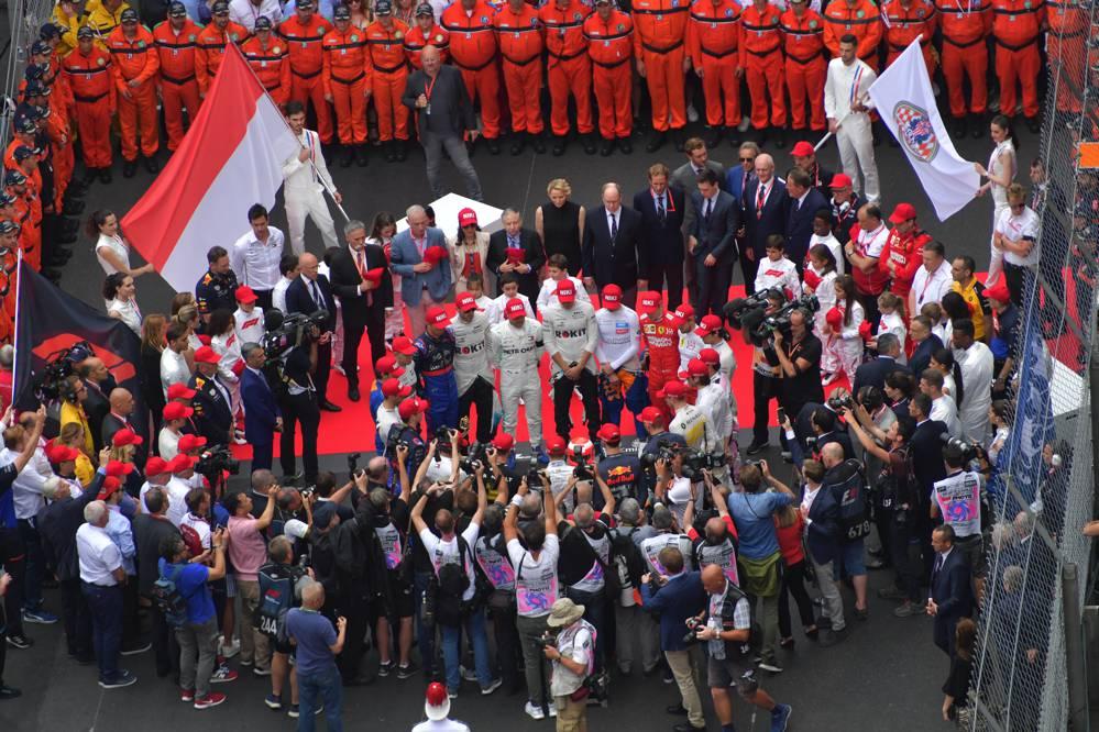 Emotionale Gedenkminute für Lauda vor Monaco-Rennen