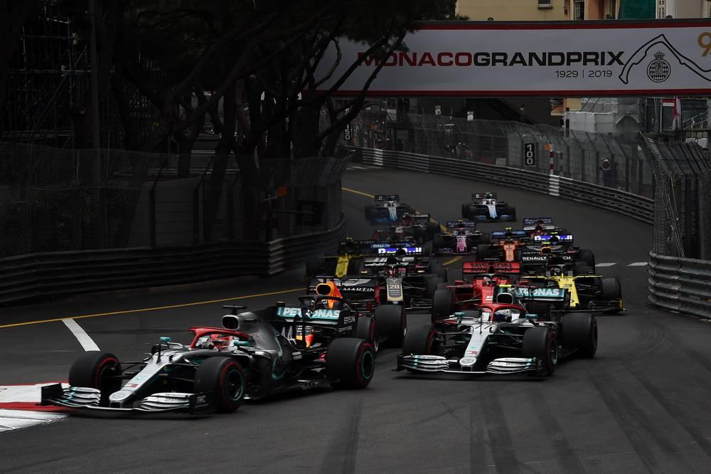 Start zum Grossen Preis von Monaco 2019