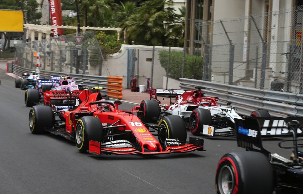 Nullnummer für Leclerc heute in Monte Carlo