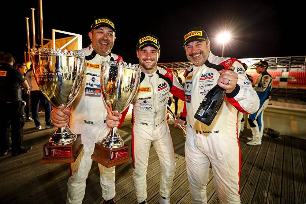 Pro-AM Sieger: Jean-Luc Beaubelique, Jim Pla, Mauro Ricci
