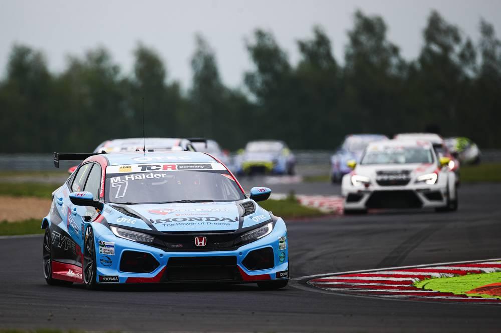 Reist als Tabellenführer nach Österreich: Honda-Pilot Mike Halder