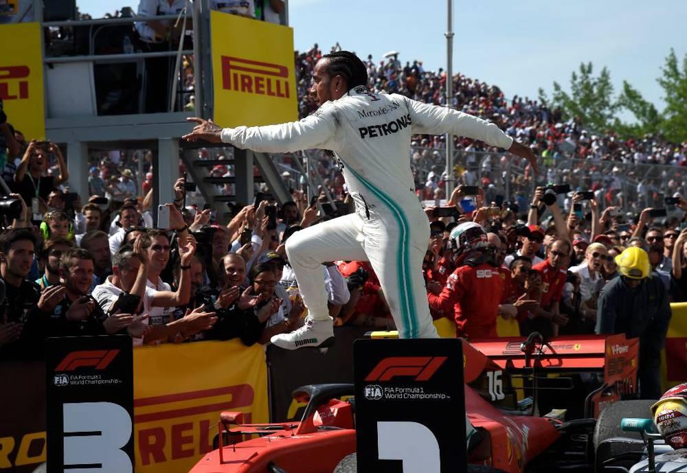 Trotz Sieg war es nur eine verhaltene Freude von Hamilton nach dem Kanada GP