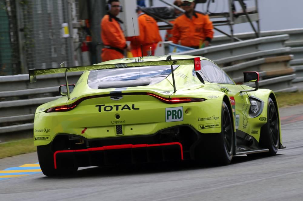 Aston Martin zeigte der GT-Pro Konkurrenz die Rücklichter