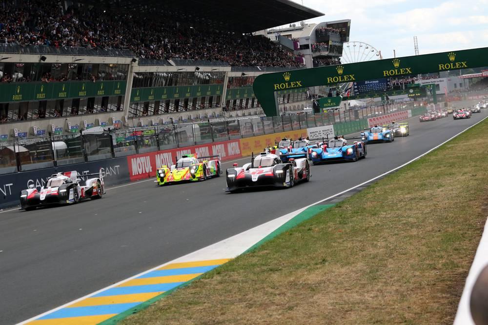 24 Stunden Le Mans 2019 Rennstart