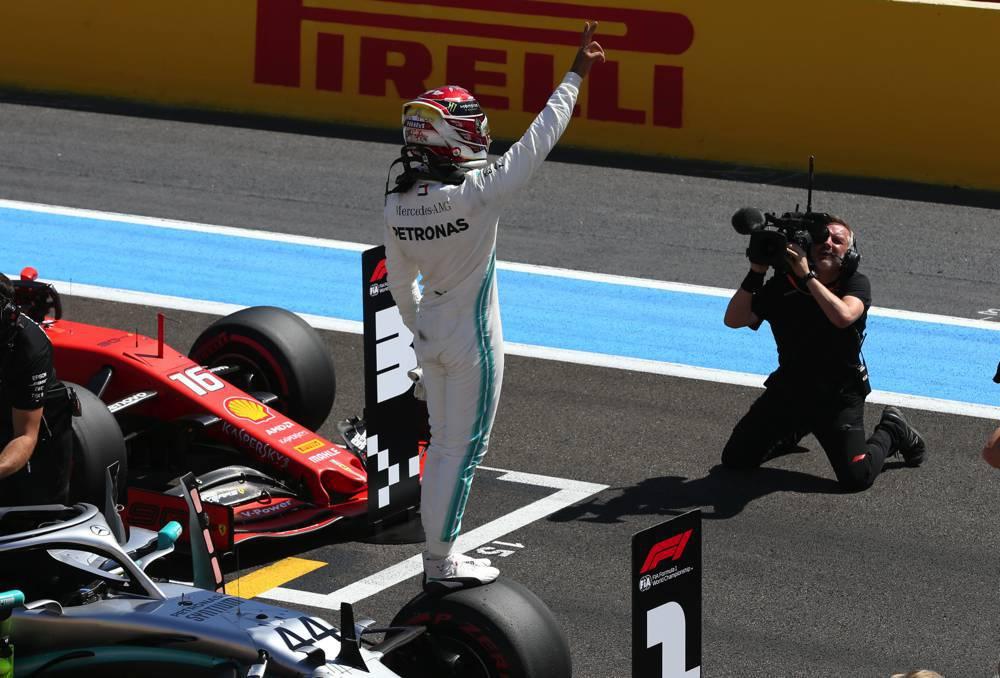 Lewis Hamilton auf Pole