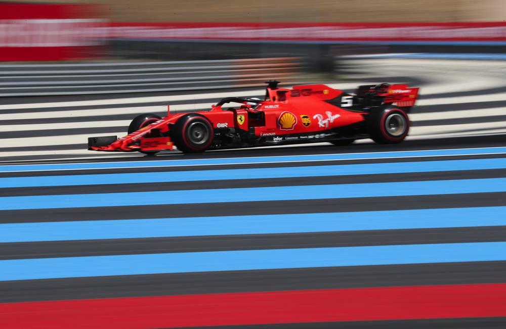 Vettel startet aus P7 in Le Castellet