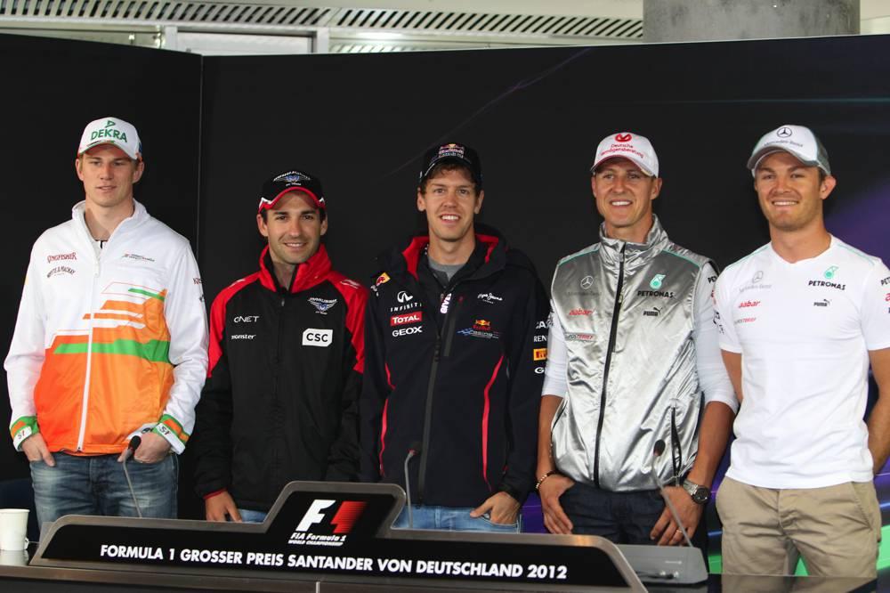 Wieviele Deutsche fuhren beim GP Deutschland 2012?