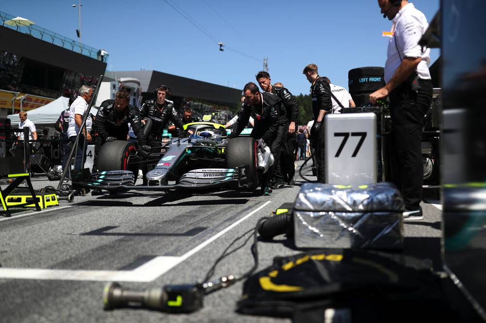 Bottas beendet das Rennen in Spielberg auf P3