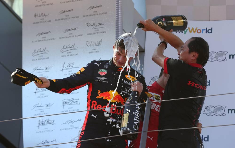 Verstappen wiederholt seinen Vorjahressieg am Red Bull Ring