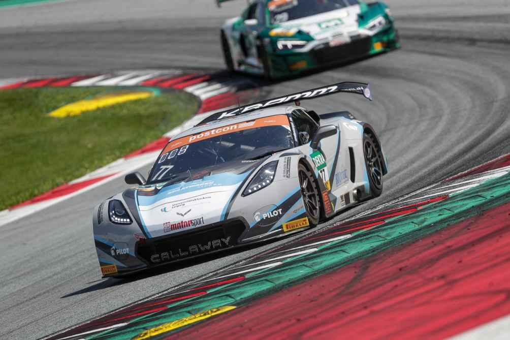 Pommer und Kirchhöfer fuhren mit ihrer Corvette C7 GT3-R bereits drei Siege ein.