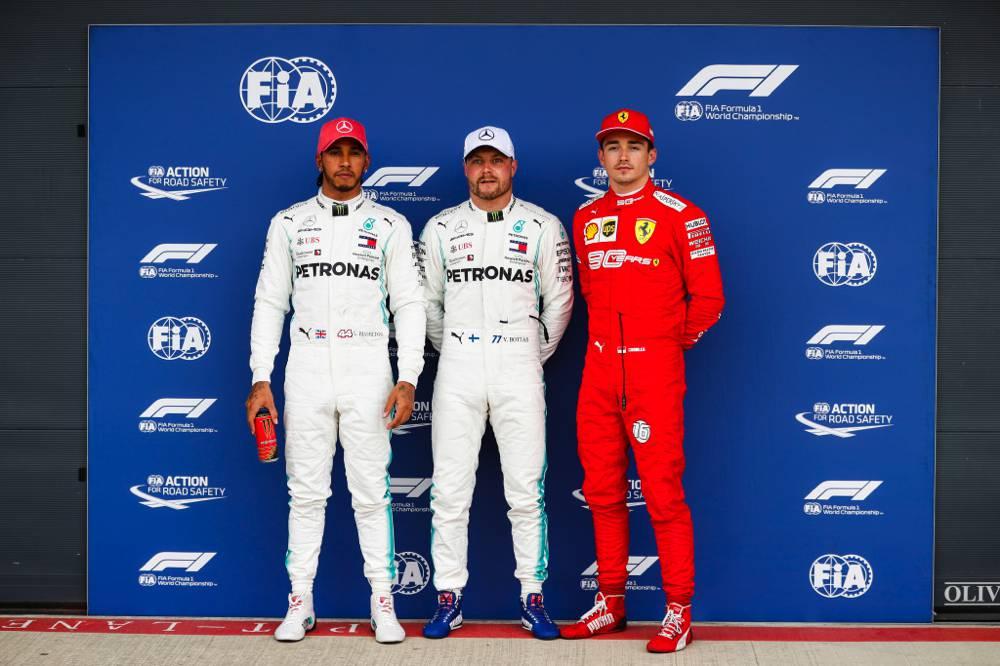 Bottas startet vor Hamilton und Leclerc in Silverstone