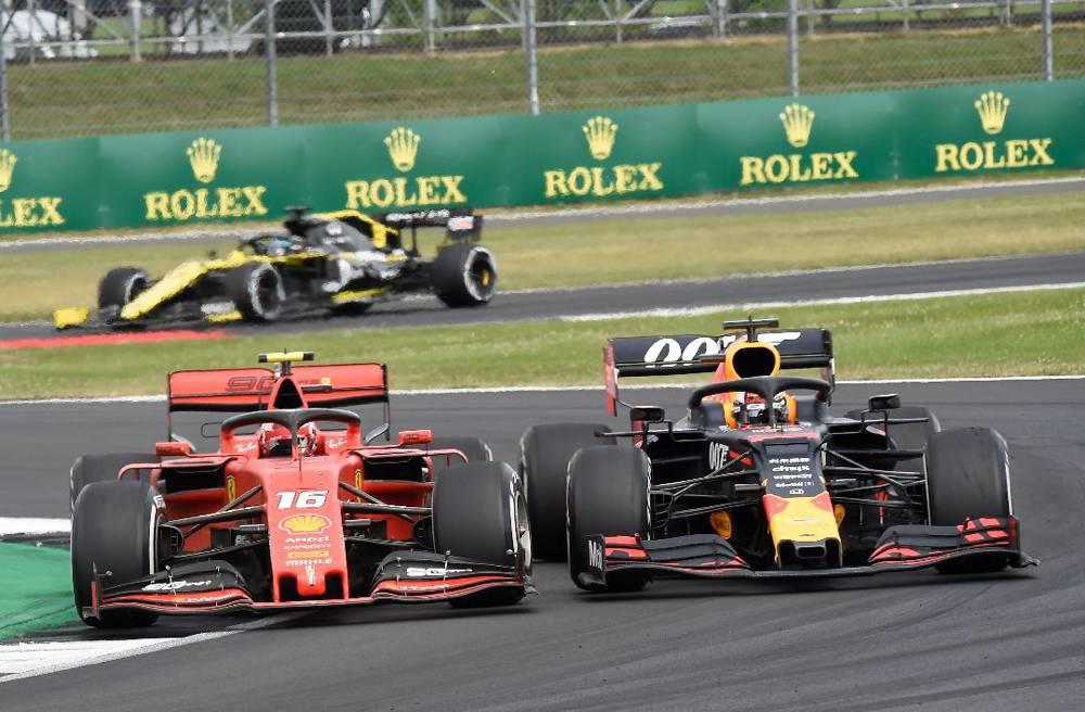 Duell des Tages Leclerc gegen Verstappen