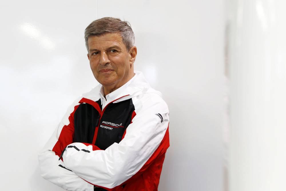Fritz Enzinger (Leiter Porsche Motorsport)