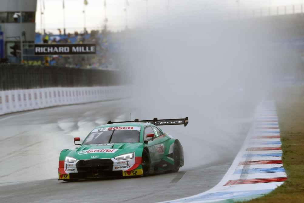 Mutige Strategie: Audi-Mann Nico Müller wird nach kämpferischer Leistung Zweiter