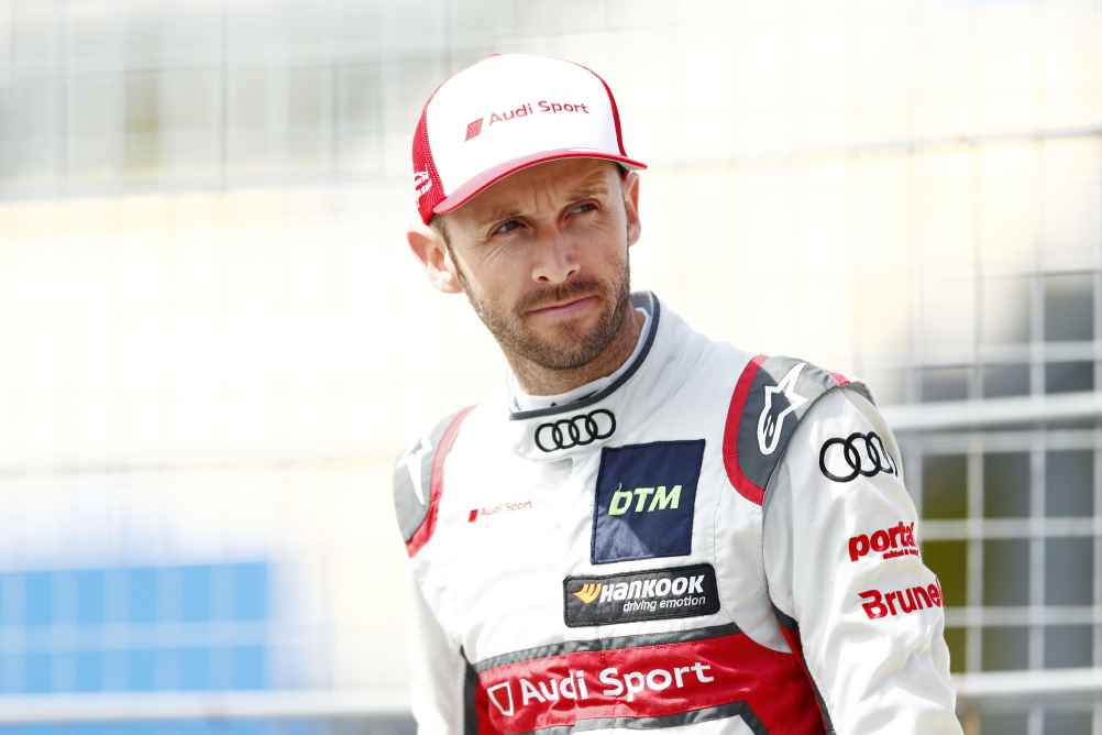 Audi-Speerspitze René Rast als Dritter
