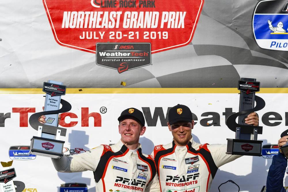 Pfaff Motorsports: Dennis Olsen (N), Zacharie Robichon (CDN)