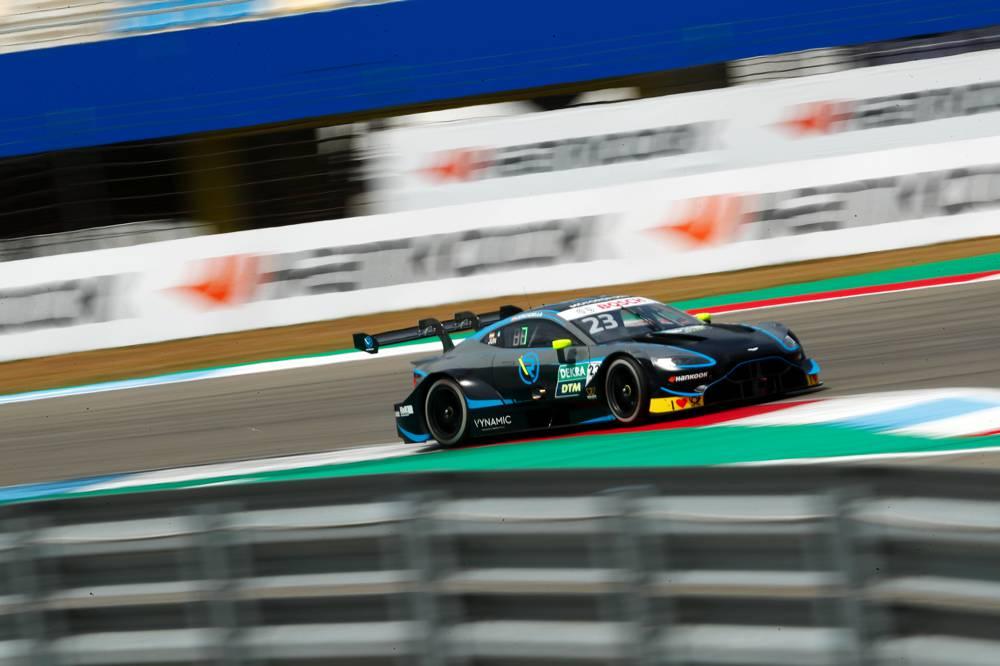Aston Martin erneut in den Punkterängen