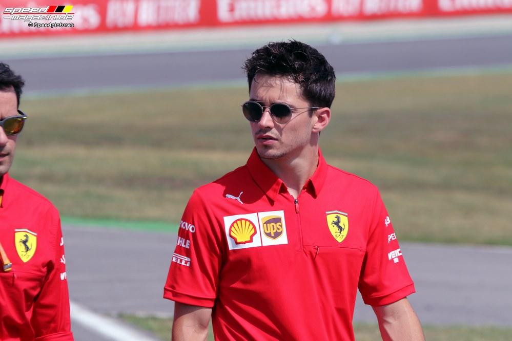 Der junge Charles Leclerc gibt sich mit Nummer 2 bei Ferrari nicht zufrieden