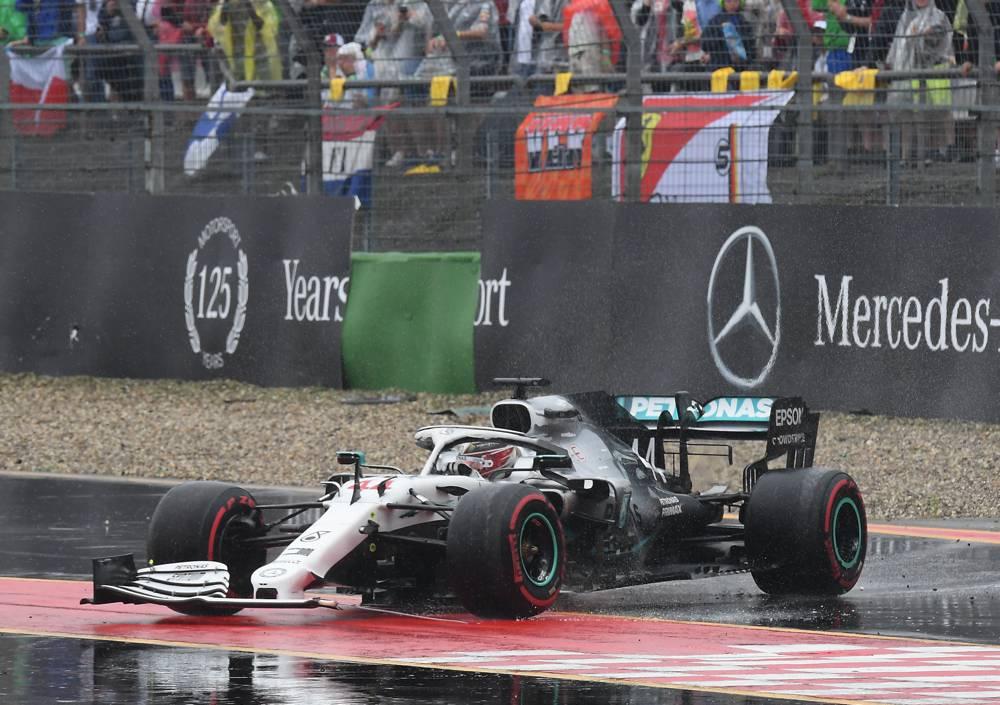 Nullnummer für Mercedes am Hockenheimring