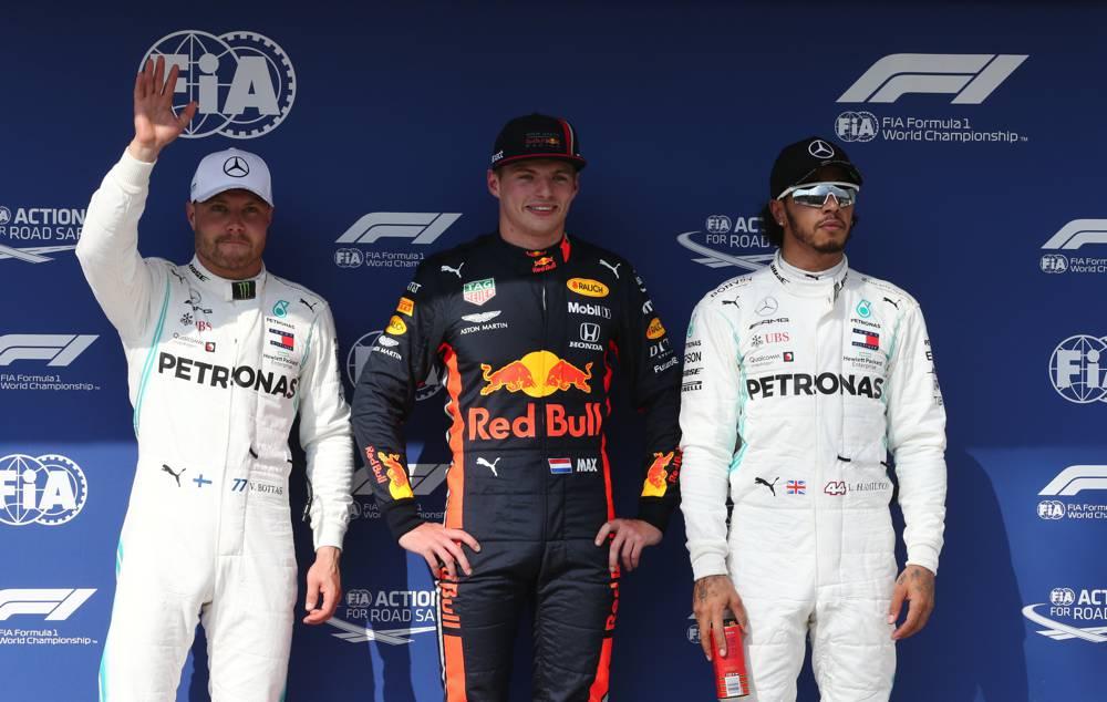 GP Ungarn Qualifying - die Top 3: Verstappen, Botas und Hamilton
