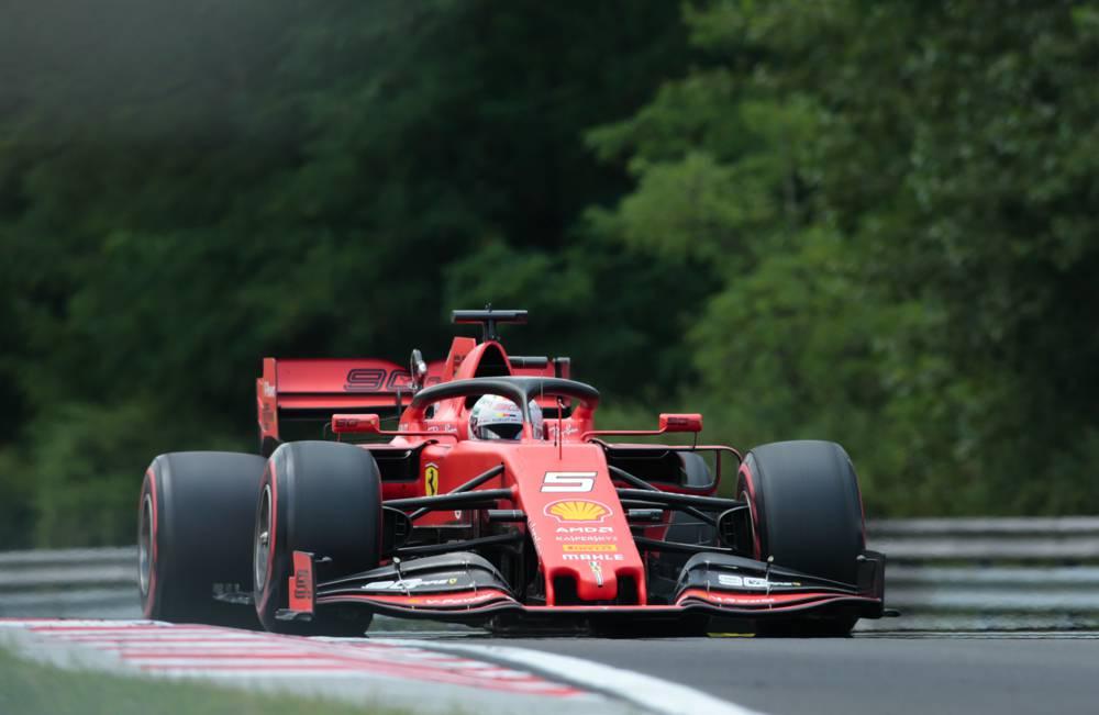 Vettel startet morgen beim GP Ungarn von P5