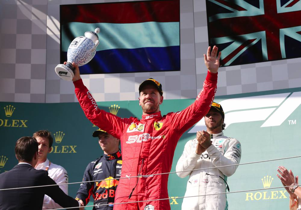 Vettel beendet das Rennen auf P3