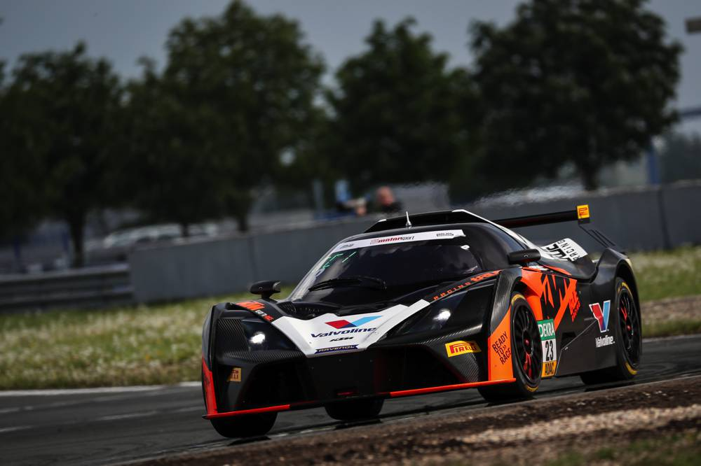 Der KTM X-Bow GT4 von True Racing