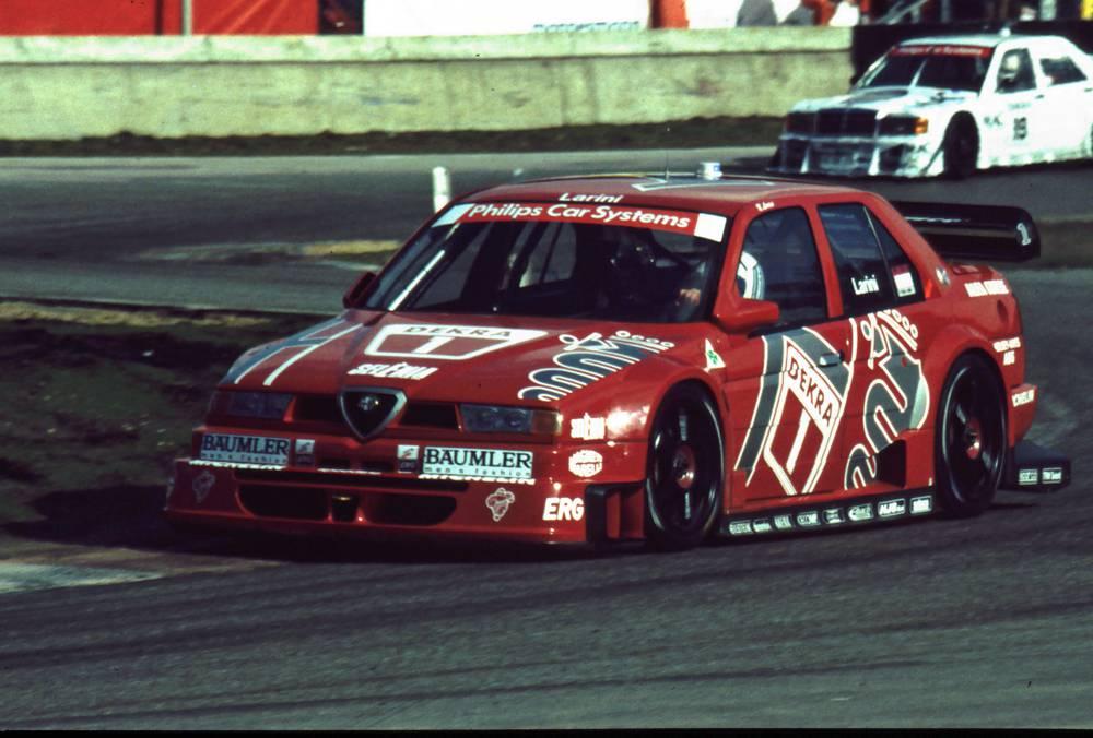 Alfa Romeo war von 1993 bis 1996 in der DTM und ITC erfolgreich