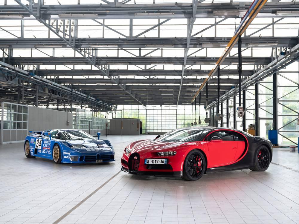 Bugatti-Historie: EB 110 und Veyron
