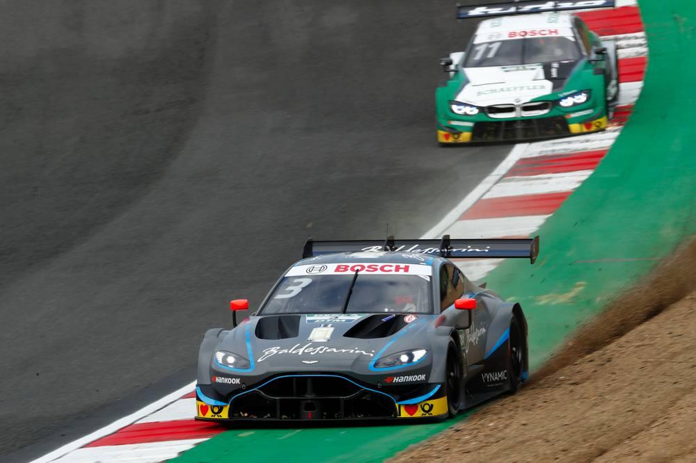 Alle drei DTM-Marken greifen nach dem Sieg: Aston-Martin, Audi und BMW