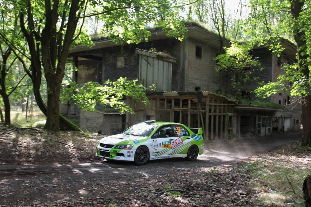 Das berühmte IVG-Gelände bei der ADAC Rallye