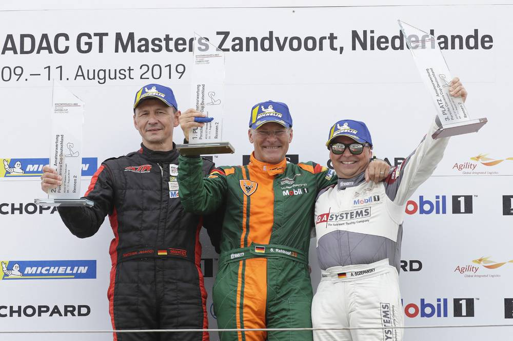 B-Podium: Matthias Jeserich, Stefan Rehkopf und Andreas Sczepansky