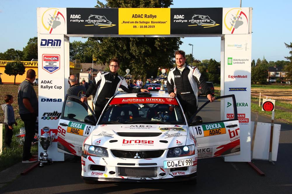 Patrik Dinkel wird schnellster ADAC Rallye Masters-Pilot in Sulingen