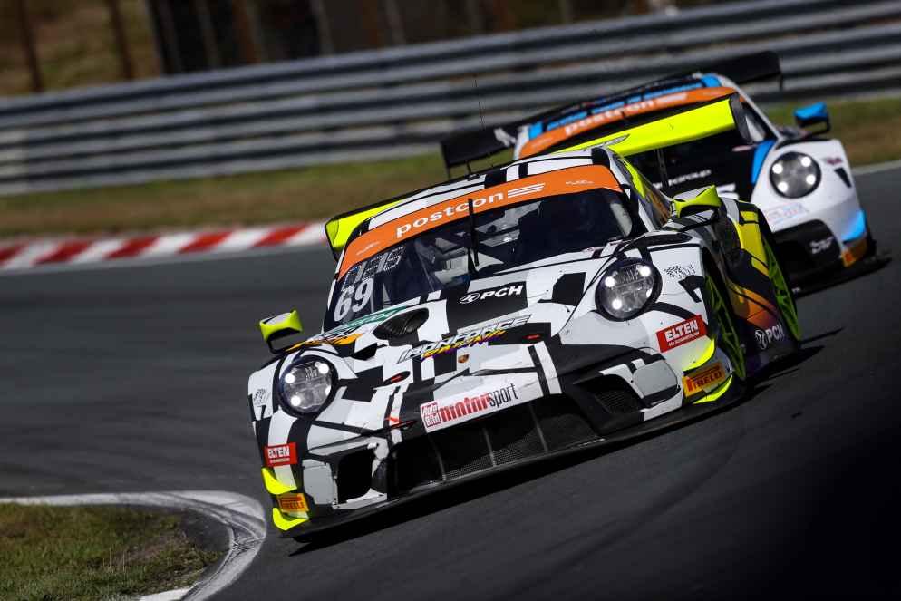 Fanfavorit: der Porsche 911 GT3 R von Iron Force Racing