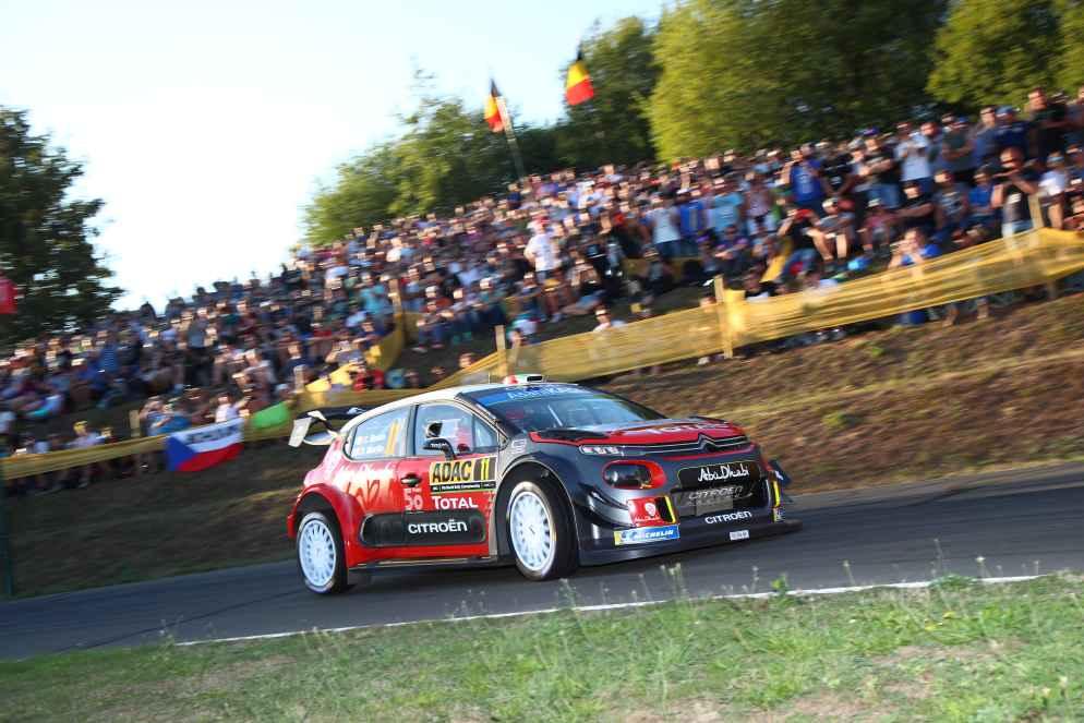Knapp 50 Zuschauerzonen gibt es 2019 bei der ADAC Rallye Deutschland
