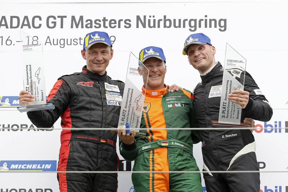 B-Podium: Matthias Jeserich,Stefan Rehkopf und Georgi Donchev