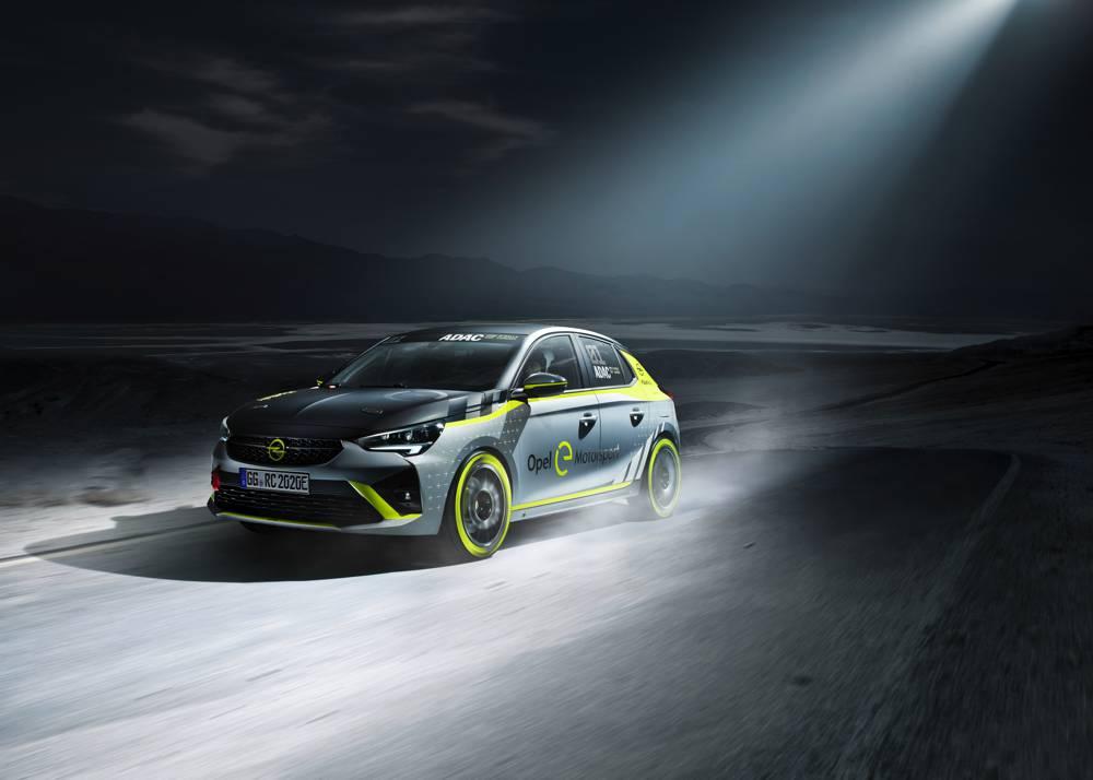 Auf der IAA feiert der Opel Corsa-e Rally Weltpremiere