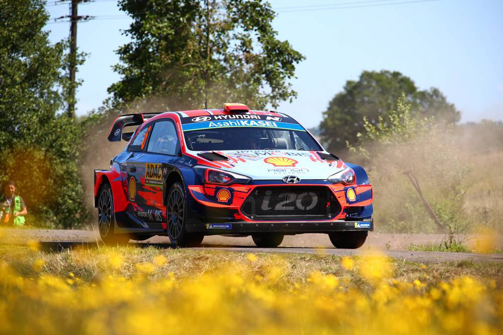ADAC Rallye Deutschland, Hyundai Shell Mobis World Rally Team, Dani Sordo