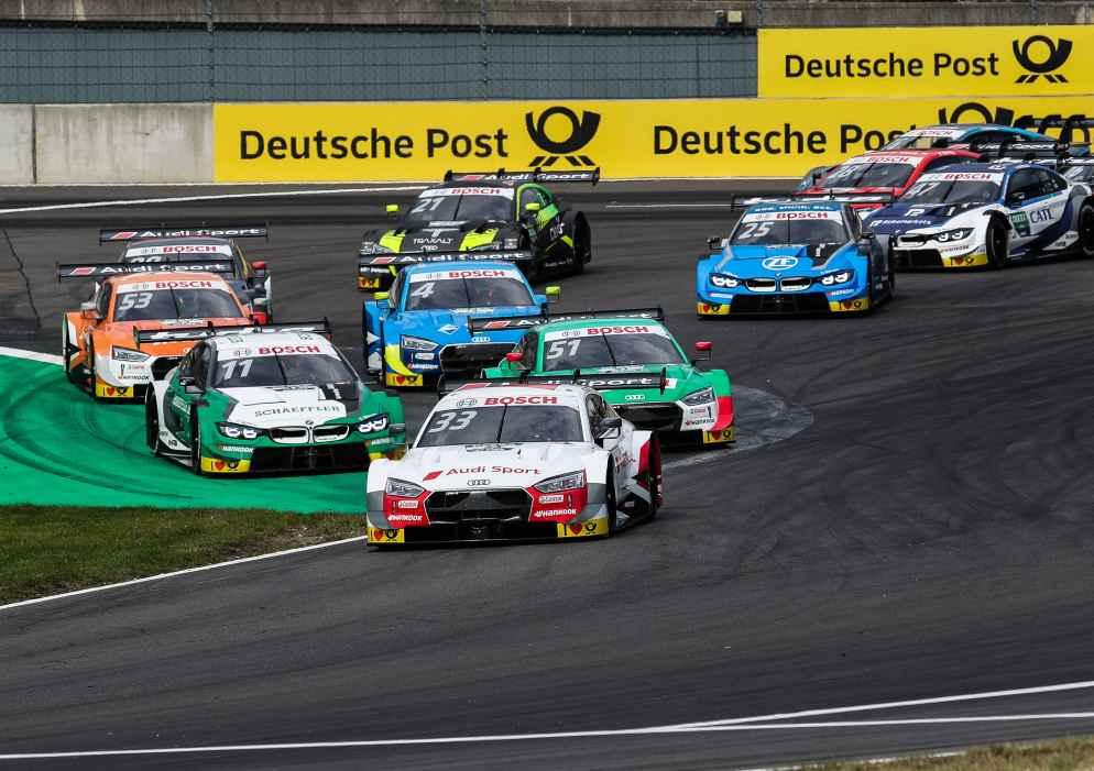 Tabellenführer René Rast nach Pole-Position ausgeschieden