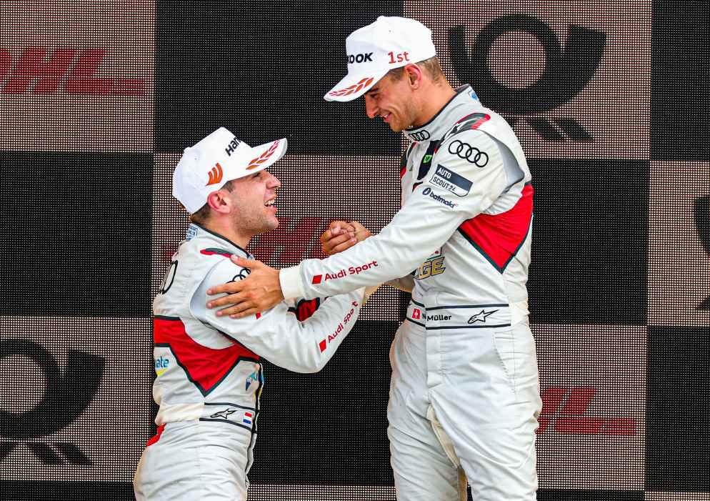 Podium erneut fest in Audi-Händen