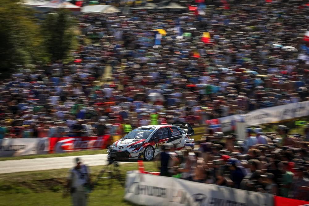 ADAC Rallye Deutschland, Toyota Gazoo Racing WRT, Kris Meeke