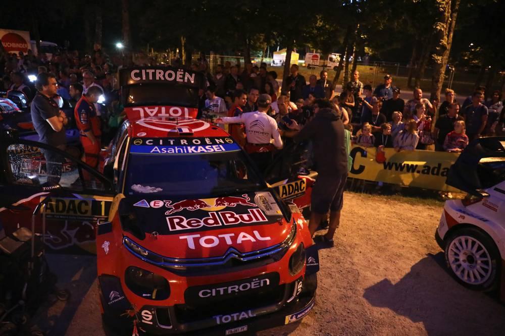 ADAC Rallye Deutschland, Citroen Total WRT, Sébastien Ogier